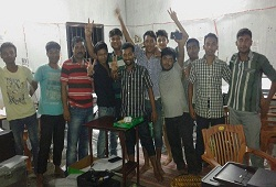 On 18th August Golakganj 1 NSK Team under Golakganj Circle in Dhubri district received 1415 numbers of Application Forms