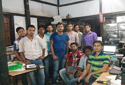 On 19th August, NSK Team of Office of CDPO Katigorah Cachar processed the highest number of forms in a day thereby taking the count to 1600.