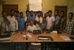 On 17th August, 2015, the NSK Team of Choutara Community Hall under Goroimari Revenue Circle of Kamrup received the highest number of Application Forms (1284) until date. The team was headed by Circle Officer Shri Pradip Bhorali, A.E, P H E, Boko sub division and LRCR Shri Asif Hussain Mazumder, JE,PHE,Boko Sub division.